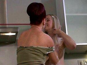 Ação Lésbica Loira E Teen Porn