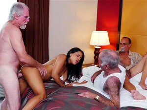 Latina Babe Nikki Kay Hot Fuck With Old Rich Men Porn