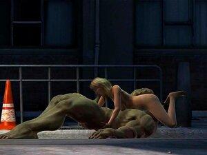 Hulk 3, Outro Hulk De Cu Buceta Esmagando O Tempo Porn