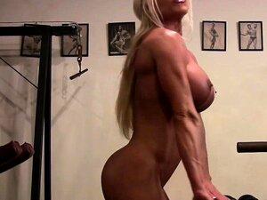 A Estrela Porno Musculada Ashlee Chambers Nua No Ginásio Porn