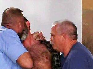 Bear Gay Hot Threesome Anal Porn