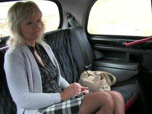 Loira Buceta Madura Lambido E Fodido No Táxi Porn