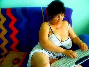 Vovó Peluda Na Cam # 1. , Porn