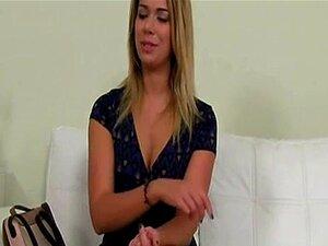Pussyfucked De Newbie Euro Durante A Audição Pornô Porn
