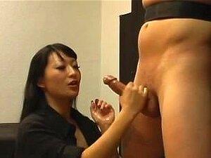 Femdom Handjob Por Lena Lang Porn