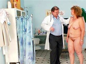 Mãe Gorda Peluda Obtém Assediado Por Ginecologista, Porn