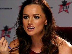 DP Estrela 3 - Alta Loira Pornstar Jillian Janson Profunda Garganta Boquete Porn
