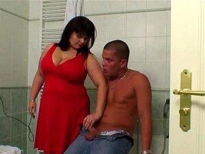 Sogra Gordinha Leva-lo No Banheiro Porn