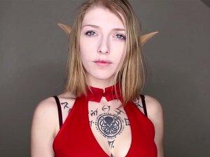 Elf Ensina A Acariciar Seu Pau Para Ela Porn