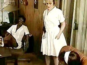 Lésbicas Afro Enfermeira Interracial Porn