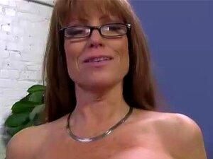 Cougar Interracial Peituda Fica Fodido Porn
