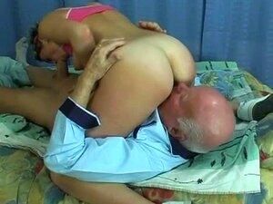 Vovô Tarado Fica Foder Um Bonito Part3 Porn