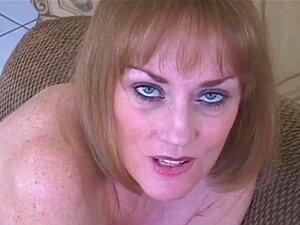 O Filho Põe Creampie Dentro Da Mamã. Porn