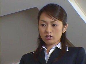 Puta Japonesa Maluca Hikaru Hozuki Em Incríveis Ménage à Trois, Secretária JAV Video Porn