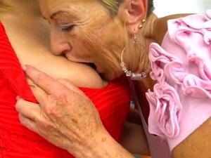 Lésbica Caseira Excitada, Avó Cena Xxx, Porn