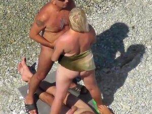 Tesão Ao Ar Livre, Filme Porno Praia, Porn