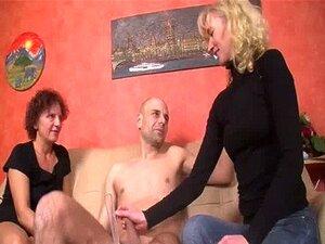 Mulheres Maduras Alemãs Foda Em Trio Porn