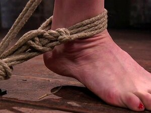 Os Submersos De Bondage Punidos Enquanto Brincam.  Bondage Subs Punished While Pussylicking Each Other In BDSM Threesome  Porn