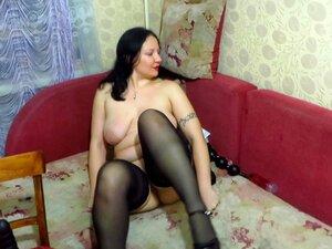 Milf Russa, Fisting, Brinquedo De Sexo Gigante Porn