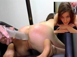 浣腸罰 Injecção De Vidro De Joelhos Enema Porn