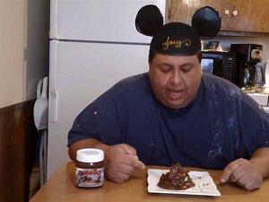 Homem Gordo Fode Chocolate Propagação Porn