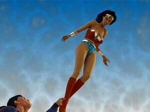 Krypton Dick. O Super-homem Mostra à Mulher Maravilha O Que Se Passa Com Os Poderes Da Pila De Krypton. Porn