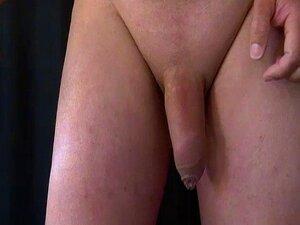 Massagem De Próstata E Bolas. Pre-cum E Mãos Livres- Porn