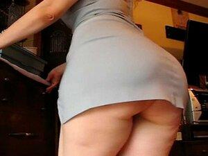 Bunda Grande No Vestido Tremendo (celulite Sexy!) Porn
