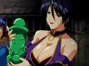 Bondage Hentai  Com  Bigboobs  é Enfiada No Vibrador  Wetpussy  Porn