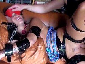 Morena Teen Amordaçada E Amarrada Durante O Caralho Duro Porn