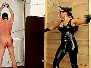 BDSM Dominadora Chicotes Patético Bastardo Submisso Porn