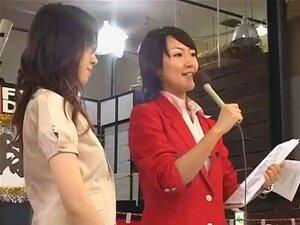 Incrível Modelo Japonês Aoi Hanayama Em Sexo Em Grupo Excitado, Mamas Pequenas JAV Clip Porn