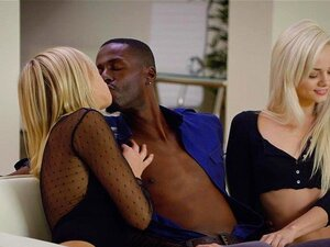 BLACKED First Interracial Foursome For Elsa Jean And Zoey Monroe Porn