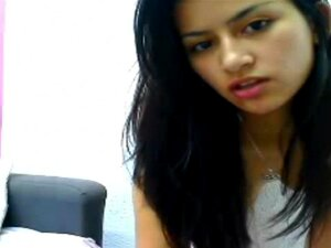 Desi Beleza Anila, Sexy Garota Indiana Anila Pegou Nua Na Webcam Ao Vivo, Provocando O Namorado Porn