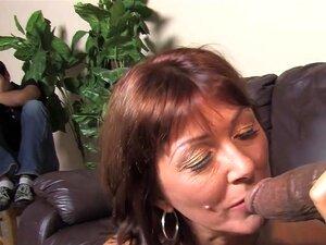 Filho Testemunha Como A Mãe Desi Foxx Toma Dois Bbc Porn