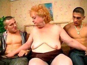 Sexo A Três Com A Avozinha Gorda E Sensual, Porn