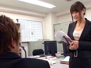Secretária De Saia Curta E Cuecas Sexy é Um Brochista-Ai Nikaidou Porn