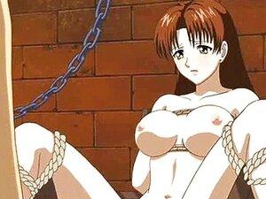 Amarrado Em Anime Obtém Vibrador Na Cona Porn