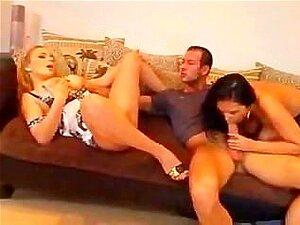 Ménage à Trois Com 2 Mulher Com Grande Brests Porn