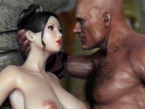 Fantasy Babe Fodida Por Gaint Cock Até Que Ela Porn