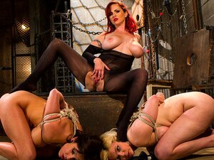Crazy Anal, Lesbian Adult Clip With Incredible Pornstars Lylith Lavey, Mz Berlin And Alice Frost From Whippedass, Mz Berlin Dominates Two Large Breasted Submissives. Lylith Lavey é Nova Na BDSM E Procura Forçar Os Seus Limites Enquanto Alice Frost é Uma E Porn