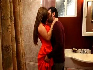 MILF Allison Obter Martelado No Banheiro Porn