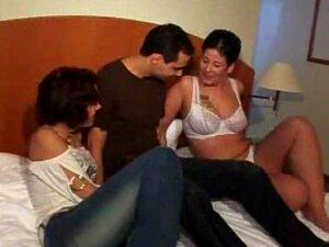 Alemão FFM Threesome Amador Por Porn