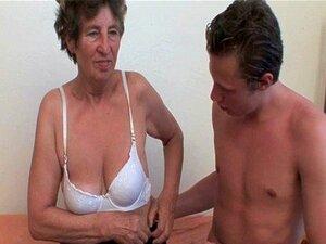 Vovó Adora Sexo Anal Porn