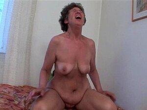 Avó Peluda Adora Sexo Anal Porn