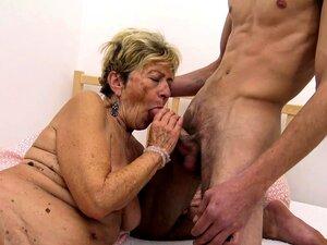 A Avó De 90 Anos é Fodida à Bruta Porn