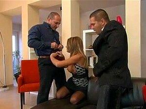 Pornstar VIVIEN Black Stockings DP, Porn