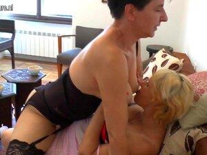 Duas Miúdas Lésbicas Velhas A Fazerem Coisas Obscenas., Porn