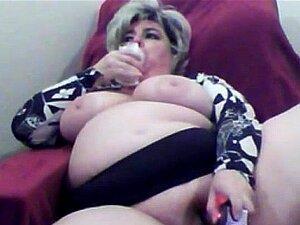 Peituda Avó Madura Peitos Grandes Masturbação Pau Plástico Porn