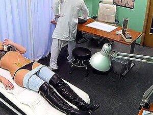 Descubra A Sessão Porno Vívida Dentro Do Falso Hospital. Porn